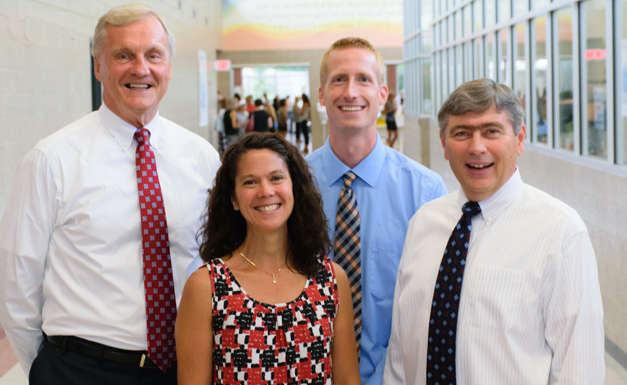 Wheaton Christian Grammar School administrative team